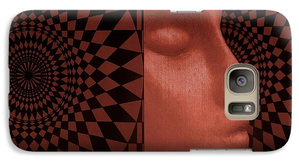 Galaxy Case featuring the photograph Diamond Shadow 2 by Jeff  Gettis