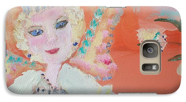 Galaxy Case featuring the painting Diana Fairy Charity by Judith Desrosiers