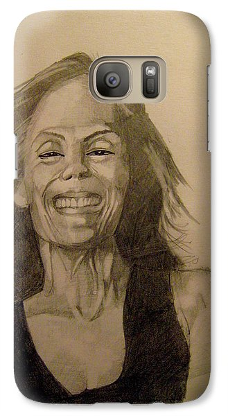 Galaxy Case featuring the painting Diana by Ray Agius