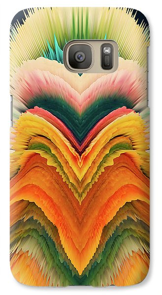 Galaxy Case featuring the photograph Vivid Eruption by Colleen Taylor