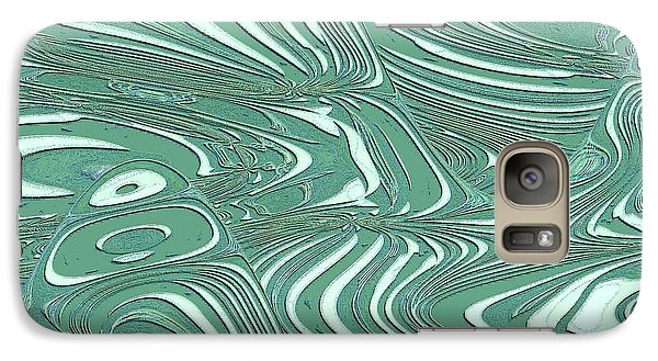 Galaxy Case featuring the photograph Digital Abstract by Marsha Heiken