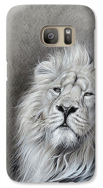 Galaxy Case featuring the drawing Dignity by Elena Kolotusha