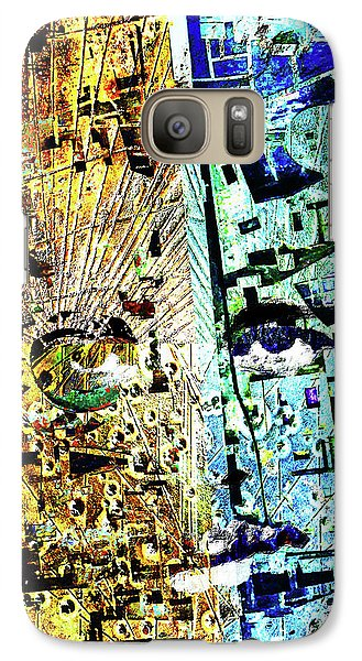 Galaxy Case featuring the painting Dillinger by Tony Rubino