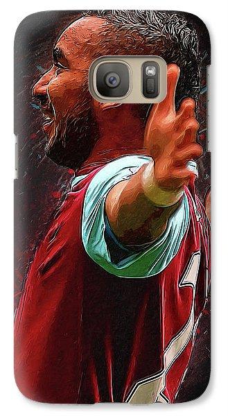 Dimitri Payet Galaxy S7 Case by Semih Yurdabak