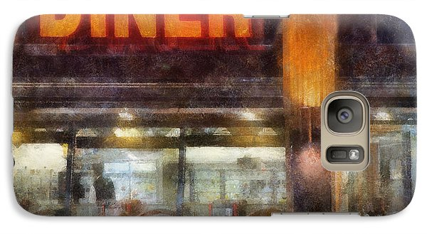 Galaxy Case featuring the digital art Diner by Francesa Miller