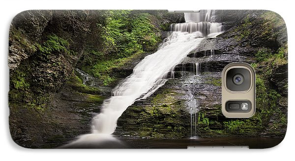 Galaxy Case featuring the photograph Dingmans Falls by Yelena Rozov