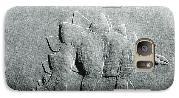Galaxy Case featuring the relief Dinosaur by Suhas Tavkar