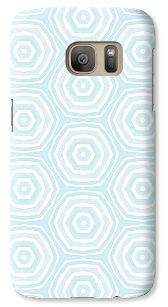 Beverly Hills Galaxy S7 Case - Dip In The Pool -  Pattern Art By Linda Woods by Linda Woods