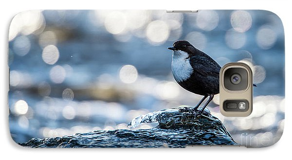 Galaxy Case featuring the photograph Dipper On Ice by Torbjorn Swenelius