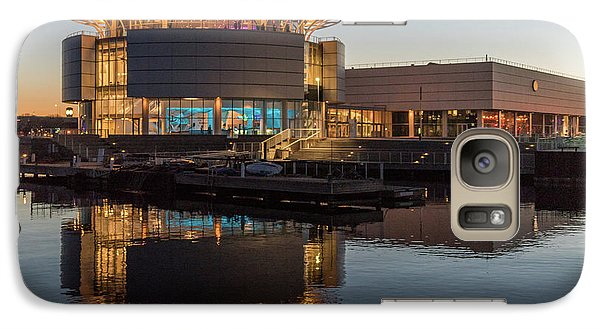 Galaxy Case featuring the photograph Discovery World by Randy Scherkenbach