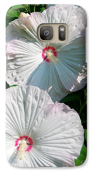 Galaxy Case featuring the photograph Dish Flower by Brian Jones
