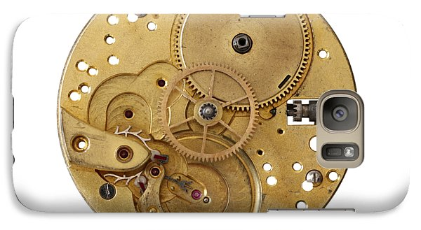 Galaxy Case featuring the photograph Dismantled Clockwork Mechanism by Michal Boubin