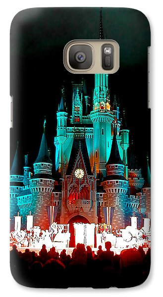 Galaxy Case featuring the photograph Disney World Night by John Haldane