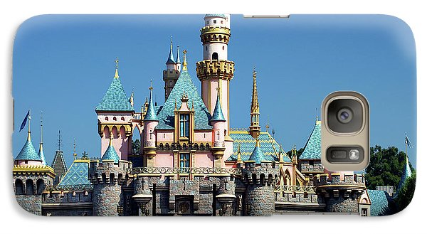 Galaxy Case featuring the photograph Disneyland Castle by Mariola Bitner