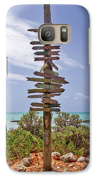 Distance From Key West Galaxy S7 Case