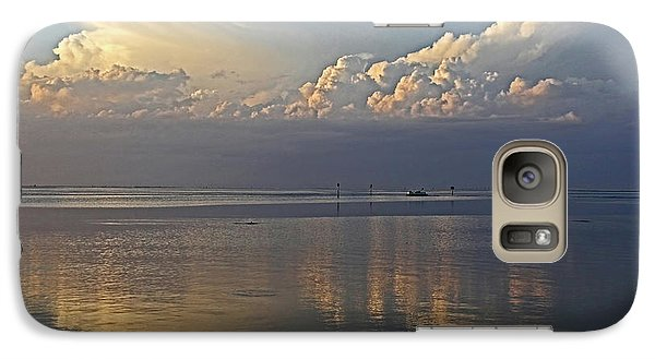 Galaxy Case featuring the photograph Distant Thunder by HH Photography of Florida
