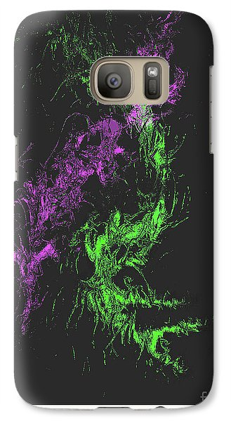 Galaxy Case featuring the digital art Distortion by John Krakora