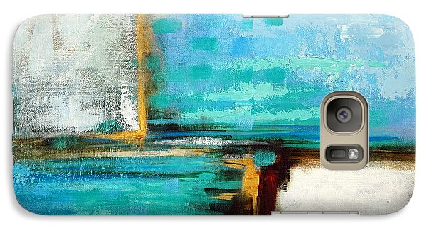 Galaxy Case featuring the painting Divided Loyalties by Suzanne McKee