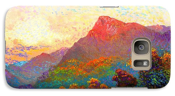 Buddha Meditation, Divine Light Galaxy S7 Case
