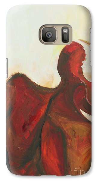 Galaxy Case featuring the painting Division by Daun Soden-Greene