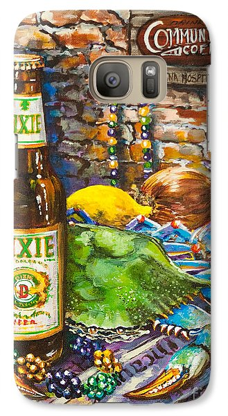 Galaxy Case featuring the painting Dixie Love by Dianne Parks