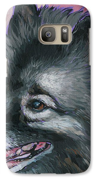 Galaxy Case featuring the painting Dixie by Nadi Spencer