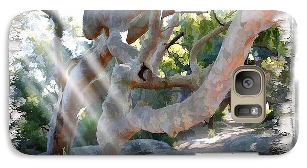 Galaxy Case featuring the photograph Do-00044 Mount Ettalong by Digital Oil