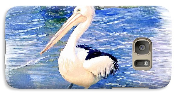 Galaxy Case featuring the photograph Do-00088 Pelican by Digital Oil