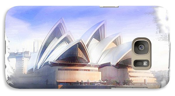Galaxy Case featuring the photograph Do-00109 Opera House by Digital Oil