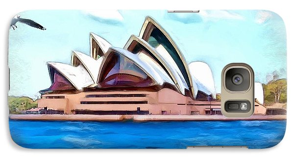 Galaxy Case featuring the photograph Do-00293 Sydney Opera House by Digital Oil