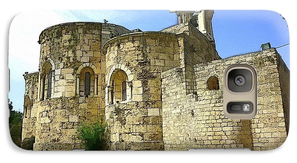 Galaxy Case featuring the photograph Do-00344 Church Of St John Marcus In Byblos by Digital Oil