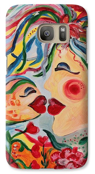 Galaxy Case featuring the painting Do Not Take The Small Things For Granted by Sladjana Lazarevic
