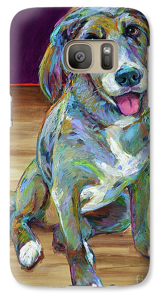 Galaxy Case featuring the painting Doc by Robert Phelps