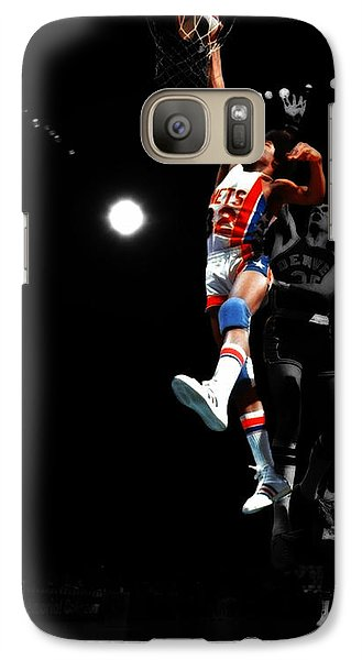 Magic Johnson Galaxy S7 Case - Doctor J Over The Top by Brian Reaves