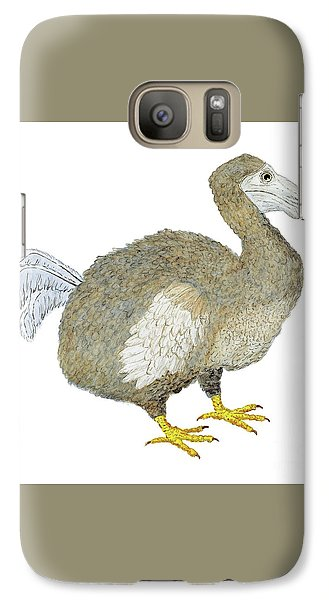 Galaxy Case featuring the painting Dodo Bird Protrait by Thom Glace