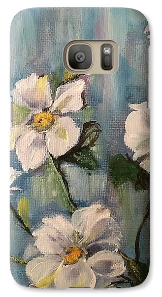 Galaxy Case featuring the painting Dog Wood by Sharon Schultz