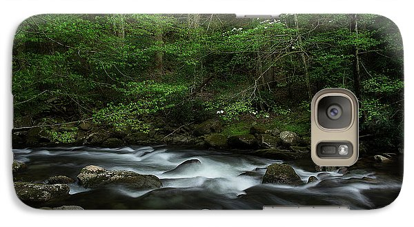 Galaxy Case featuring the photograph Dogwood Along The River by Mike Eingle