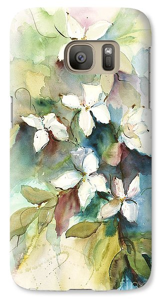 Galaxy Case featuring the painting Dogwood Branch by Sandra Strohschein
