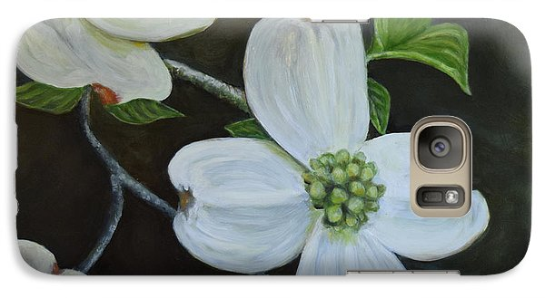 Galaxy Case featuring the painting Dogwood Dream by Sandra Nardone
