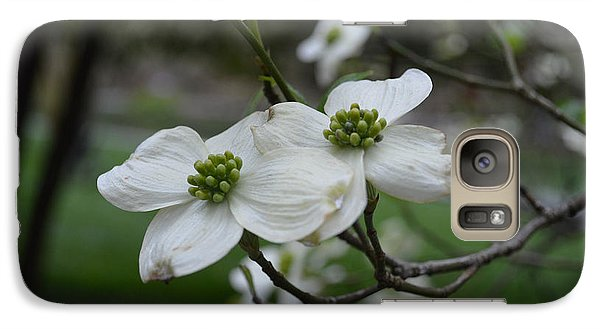 Galaxy Case featuring the photograph Dogwood by Linda Geiger