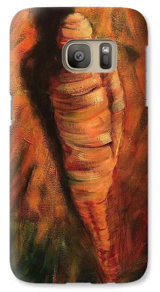 Galaxy Case featuring the painting Doll by Randol Burns