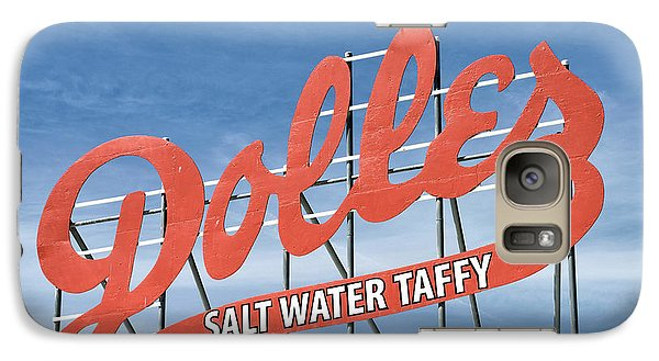 Galaxy Case featuring the photograph Dolles Salt Water Taffy - Rehoboth Beach  Delaware by Brendan Reals