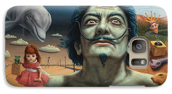 Surrealism Galaxy S7 Case - Dolly In Dali-land by James W Johnson