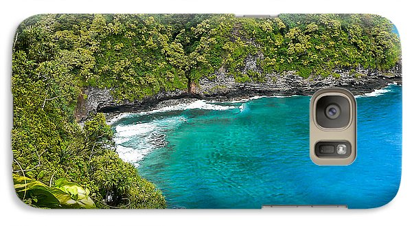 Galaxy Case featuring the photograph Dolphin Cove by Debbie Karnes