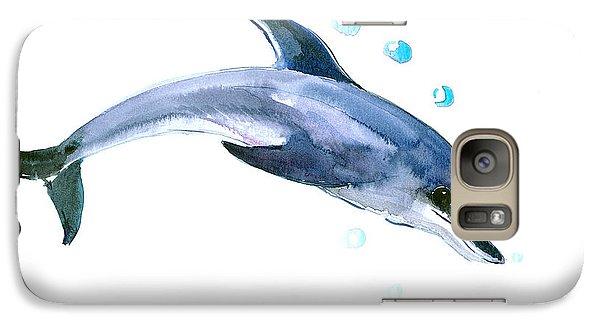 Dolphin Galaxy S7 Case by Suren Nersisyan