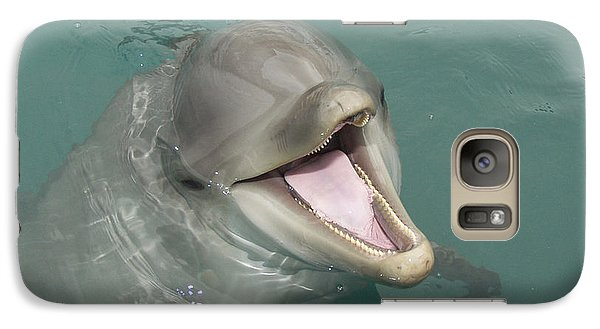 Galaxy Case featuring the painting Dolphin by Sean M