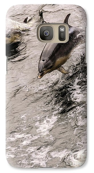 Dolphins Galaxy S7 Case by Werner Padarin