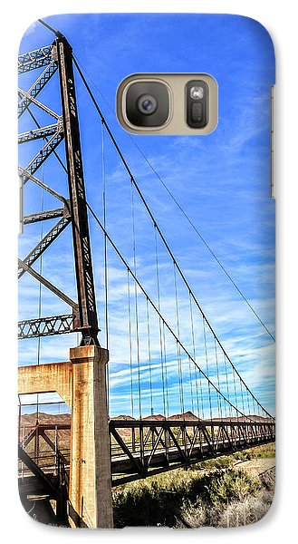 Galaxy Case featuring the photograph Dome Bridge by Robert Bales