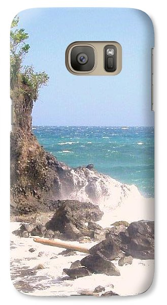 Galaxy Case featuring the photograph Dominica North Atlantic Coast by Ian  MacDonald