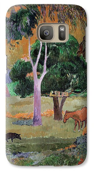 Dominican Landscape Galaxy S7 Case by Paul Gauguin